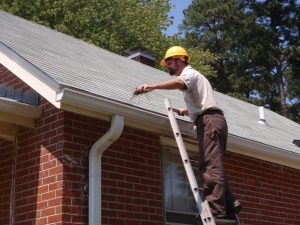 Check your home's gutter system and roof for any flaws.